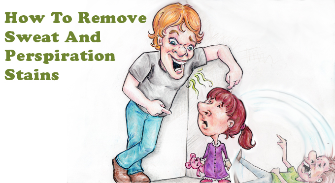 How To Remove Sweat And Perspiration Stains Simply Good Tips