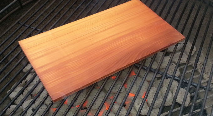 STEP 2: how to grill fish on a cedar plank