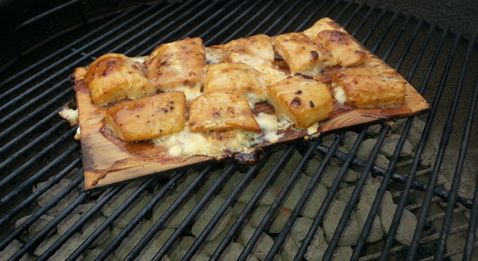 STEP 4: how to grill fish on a cedar plank