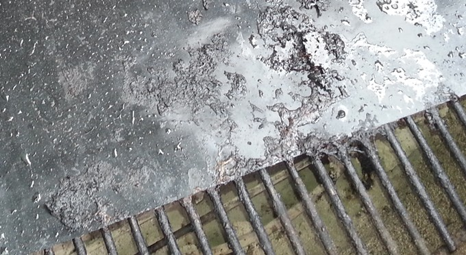 Keep your grill clean